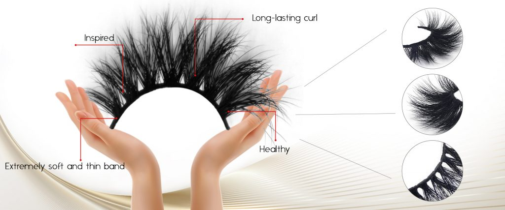 Analysis of eyelash characteristics