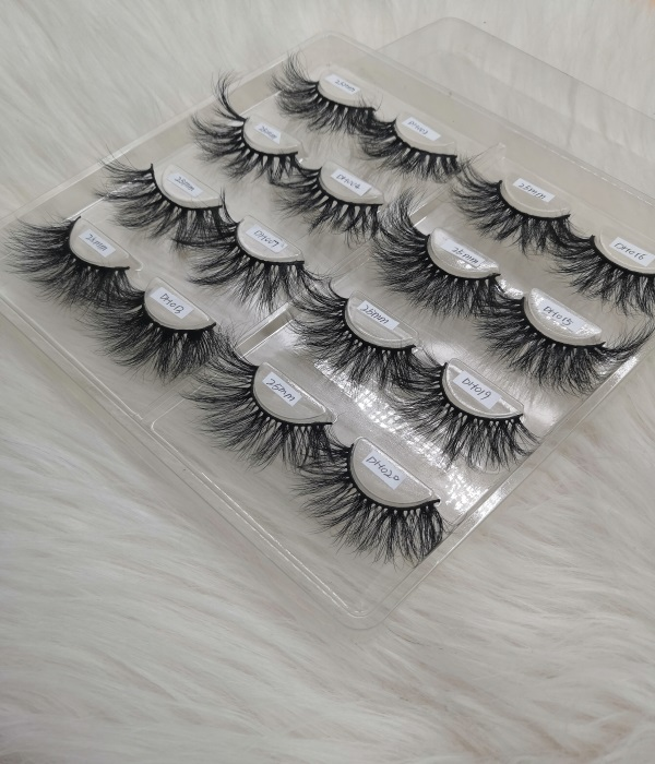 Mink Eyelashes Mixed Samples To Start